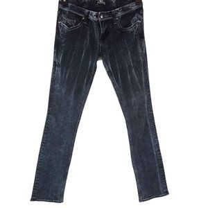 Express Re Rock Jeans Black Straight- N714